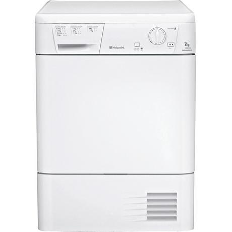 Hotpoint CDN7000BP 7kg Condenser Tumble Dryer - White - B Rated Euronics