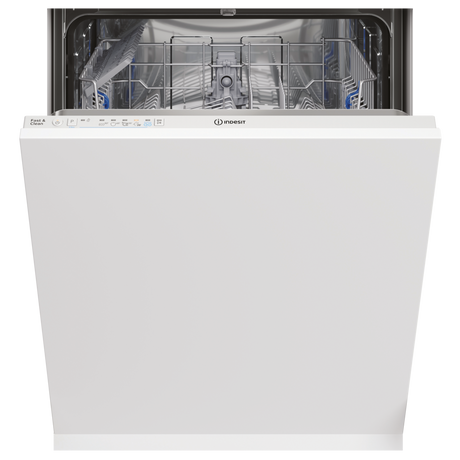 Indesit DIE2B19UK Integrated Full Size Dishwasher - White - 13 Place Settings - Euronics  * * 2 ONLY AT THIS PRICE * *
