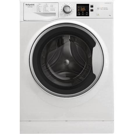 Hotpoint NSWE743UWS 7 kg 1400 Spin Washing Machine - White - A+++ Energy Rated Euronics