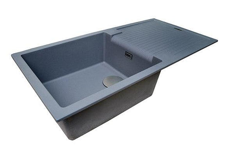 The 1810 Company SHARDUNO 100i Inset Sink Metallic Grey-Appliance People