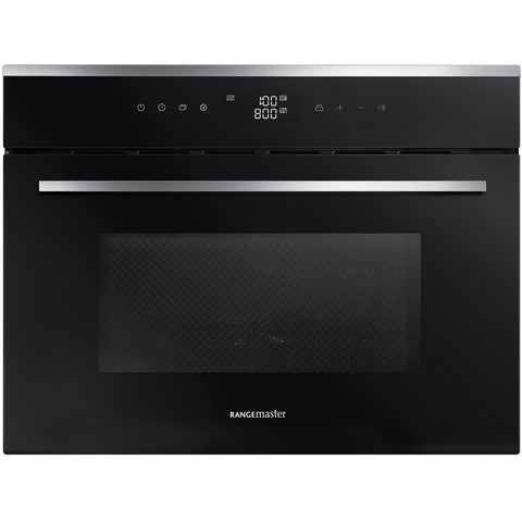 Rangemaster RMB45MCBL/SS 45CM BUILT-IN MICROWAVE COMBI OVEN * * ONLY 4 LEFT AT THIS PRICE * *