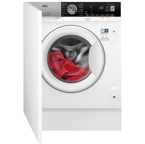 AEG 7000 series L7WE7631BI 7kg fully integrated washer dryer