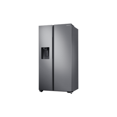Samsung RS65R5401M9 American Style Fridge Freezer - Matt Silver - Euronics  * * LIMITED STOCK AVAILABLE * *
