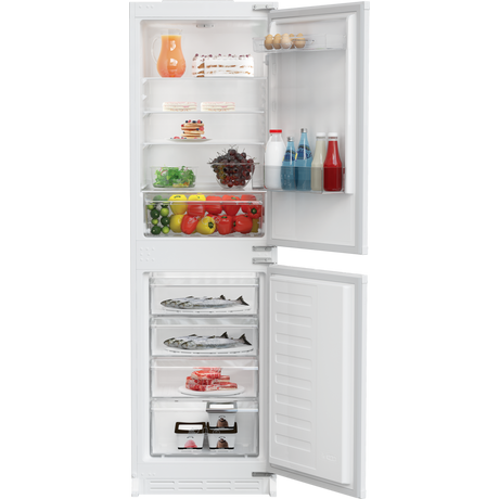 Zenith ZICSD355 Integrated Static Fridge Freezer - A+ Energy Rated - Euronics