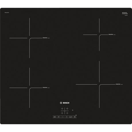 Bosch PUE611BF1B 60cm Induction Hob - Black Euronics * * 1 ONLY LEFT AT THIS PRICE * *