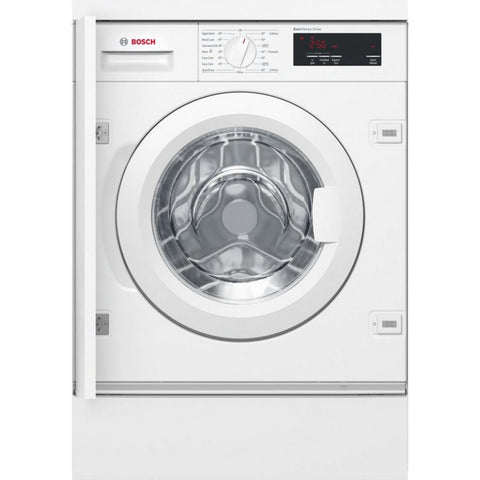 Bosch WIW28301GB Integrated 8kg 1400 Spin Washing Machine - White - A+++ Rated Euronics