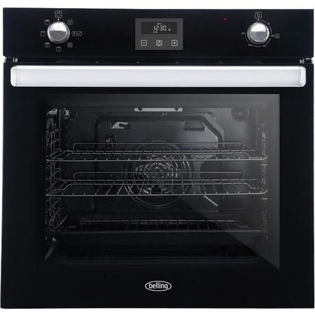 Belling BI602FPCTBLK Built In Electric Single Oven - Black - A Rated Euronics