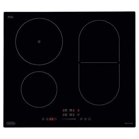 Belling IHL602 59cm Induction Hob - Black Euronics