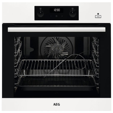 AEG BEB355020W Built In SteamBake Multifunction Single Oven – WHITE