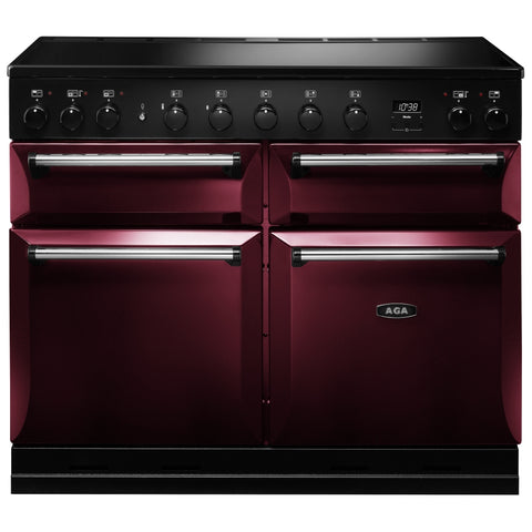 AGA Masterchef MDX110EICBY Masterchef Deluxe 110cm Induction Range Cooker 121860 in Cranberry