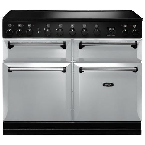 AGA Masterchef MDX110EIPAS Masterchef Deluxe 110cm Induction Range Cooker 121880 in Pearl Ashes