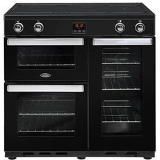 Belling Cookcentre 90EI 90cm Induction Range Cooker Professional Stainless Steel-Appliance People