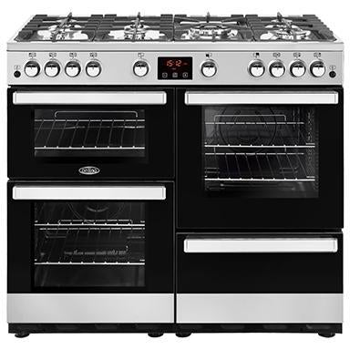 Belling Cookcentre 100G 100cm Gas Range Cooker Stainless Steel-Appliance People
