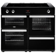 Belling Cookcentre 110EI 110cm Induction Range Cooker Black-Appliance People