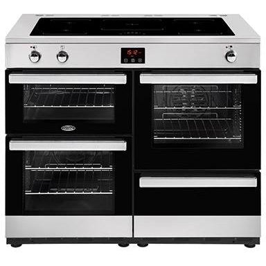 Belling Cookcentre 110EI 110cm Induction Range Cooker Stainless Steel-Appliance People