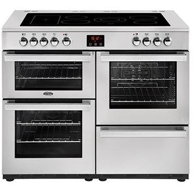 Belling Cookcentre 110E 110cm Ceramic Range Cooker Professional Stainless Steel-Appliance People