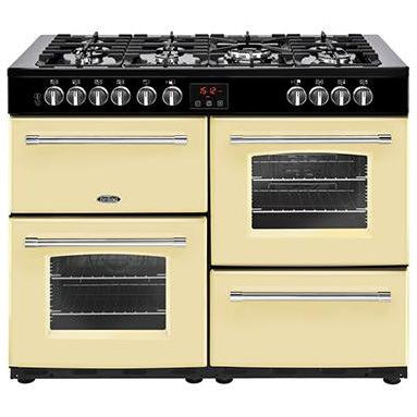 Belling Farmhouse 110DFT 110cm Dual Fuel Range Cooker Cream-Appliance People