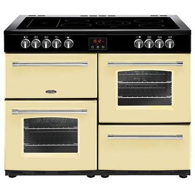 Belling Farmhouse 110E 110cm Ceramic Range Cooker Cream-Appliance People