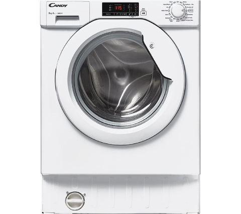 CANDY CBWM816D-80 Integrated 8kg 1600rpm Washing Machine in White