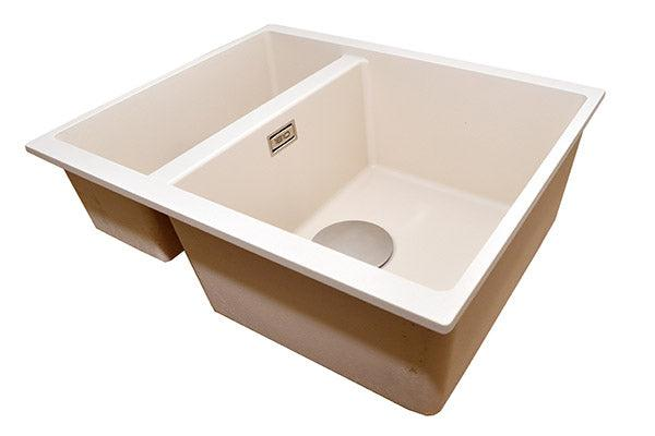 The 1810 Company CAVADUO 355/155U Undermount Sink Champagne-Appliance People