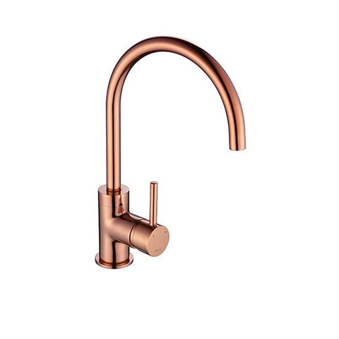 The 1810 Company COURBE CURVED SPOUT Tap Copper-Appliance People