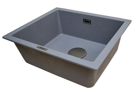 The 1810 Company CAVAUNO 469U Undermount Sink Metallic Grey-Appliance People