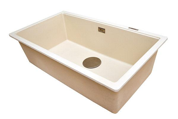 The 1810 Company CAVAUNO 720U Undermount Sink Champagne-Appliance People