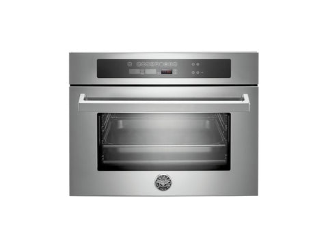 Bertazzoni F45-PRO-CST-X Professional Series Compact Height Steam Oven in Stainless Steel