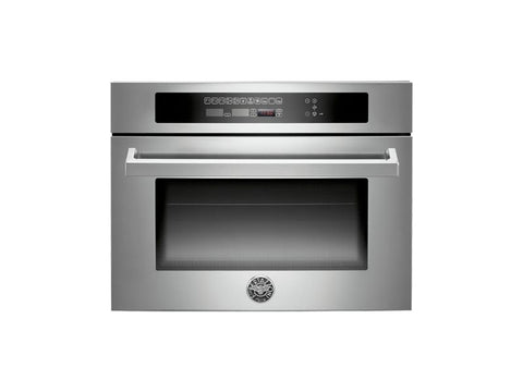 Bertazzoni F45-PRO-MOW-X Professional Series Built-in Combination Microwave Oven in Stainless Steel