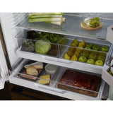 Fisher & Paykel RF540ADUB5 Goliath (Black Steel) French Style Fridge Freezer With Ice & Water