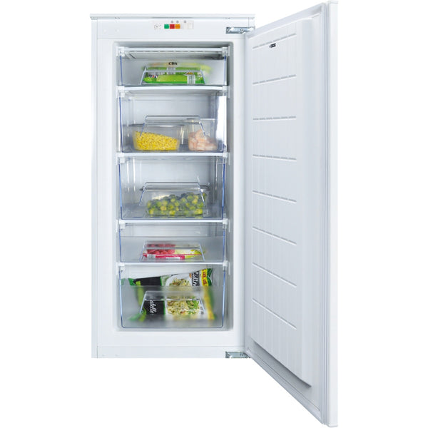 CDA FW582 1200mm 3/4 height integrated freezer White-Appliance People