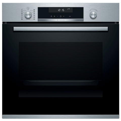 Bosch HBA5780S6B Serie 6 Pyrolytic Single Oven – STAINLESS STEEL * * 1 ONLY LEFT * *