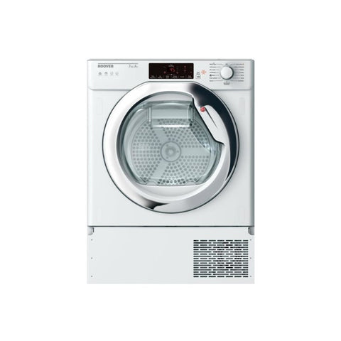 Hoover HBTDWH7A1TCE-80 7kg Integrated Heat Pump Tumble Dryer