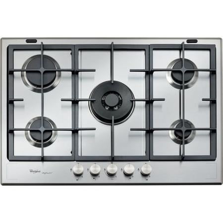 Whirlpool GMF7522IXL Fusion 73cm Four Burner Gas Hob - Stainless Steel * * ONLY 4 LEFT * *