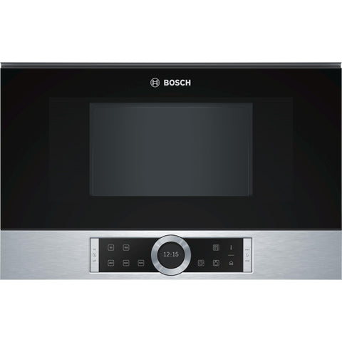 Bosch Serie 8 BFL634GS1B Built-in Microwave Stainless Steel-Appliance People