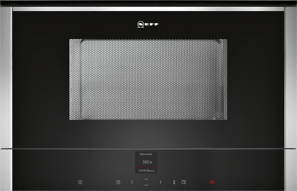 Neff C17WR00N0B N70 Built-in microwave Stainless steel-Appliance People