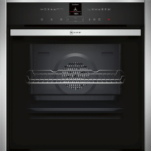 Neff B47VR32N0B N70 Oven with VarioSteam Stainless Steel-Appliance People