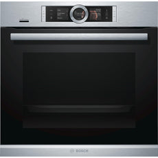 Bosch Series 8 HRG6769S6B 60cm Built-in Single Oven Stainless Steel-Appliance People