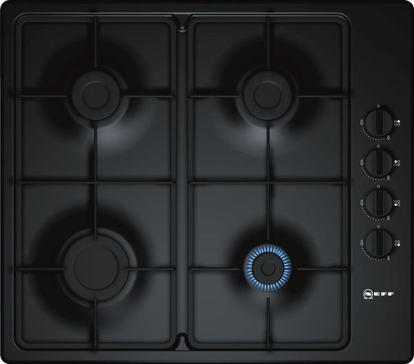 Neff T26BR46S0 N30 4 Zone Gas Hob Black-Appliance People