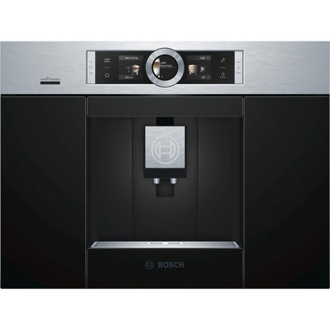 Bosch CTL636ES6 Fully automatic Built-in Coffee Machine Brushed Steel-Appliance People