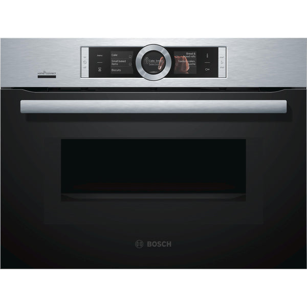 Bosch Series 8 CMG676BS6B Built-in Combination Oven Stainless Steel-Appliance People