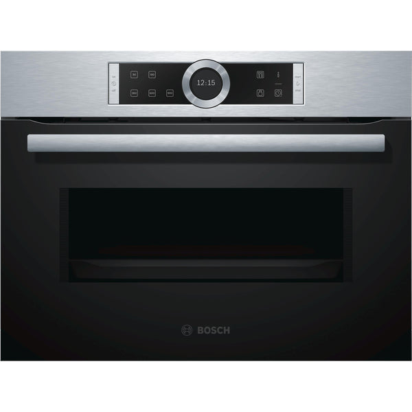 Bosch Serie 8 CFA634GS1B Built-in Microwave Stainless Steel-Appliance People