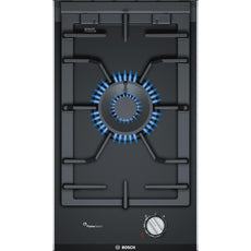 Bosch Serie 8 PRA3A6D70 1 Burner Domino Hob Black-Appliance People