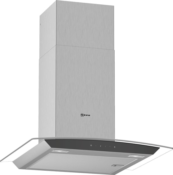 Neff D64AFM1N0B N50 Glass design Chimney hood Stainless steel-Appliance People
