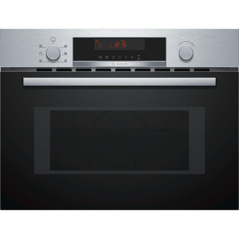 Bosch Series 4 Combination microwave oven Brushed Steel-Appliance People