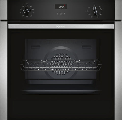 Neff B1ACE4HN0B N50 Built-in Single Oven Silver * * Limited offer * *-Appliance People