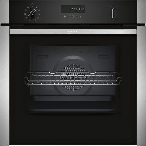 Neff B4ACM5HN0B N50 Built-in Single Oven Silver * * Limited Offer * *-Appliance People
