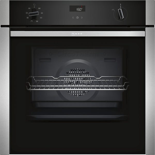 Neff B4ACF1AN0B N50 Built-in Single Oven Silver * * Limited Offer * *-Appliance People