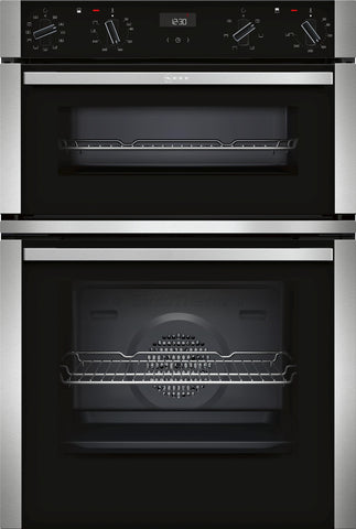 Neff N50 U1ACI5HN0B Double Built-in Electric Oven Stainless Steel * * Limited Offer * *-Appliance People