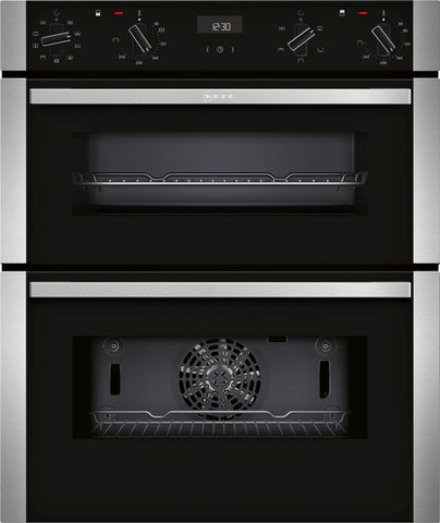 Neff J1ACE2HN0B N50 Built-under Double Oven Stainless Steel-Appliance People